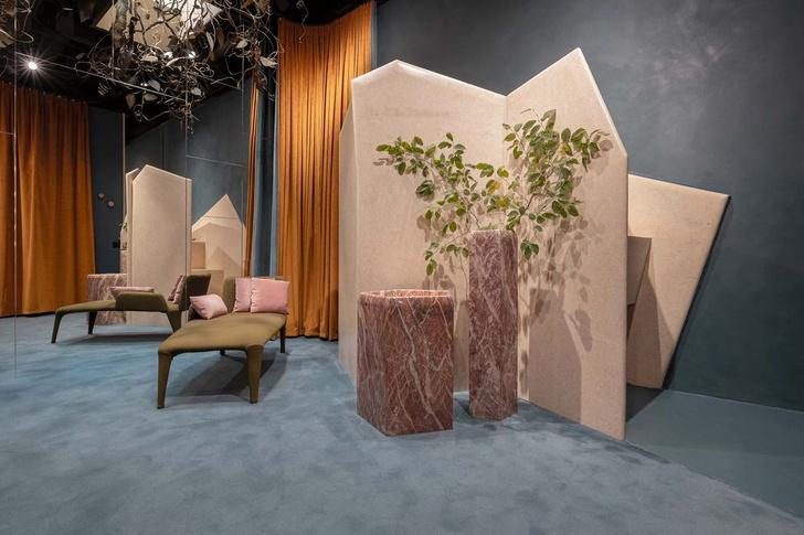 Фото №7 - 17 архитектурных бюро переосмыслили гримерки Театра Арчимбольди в Милане