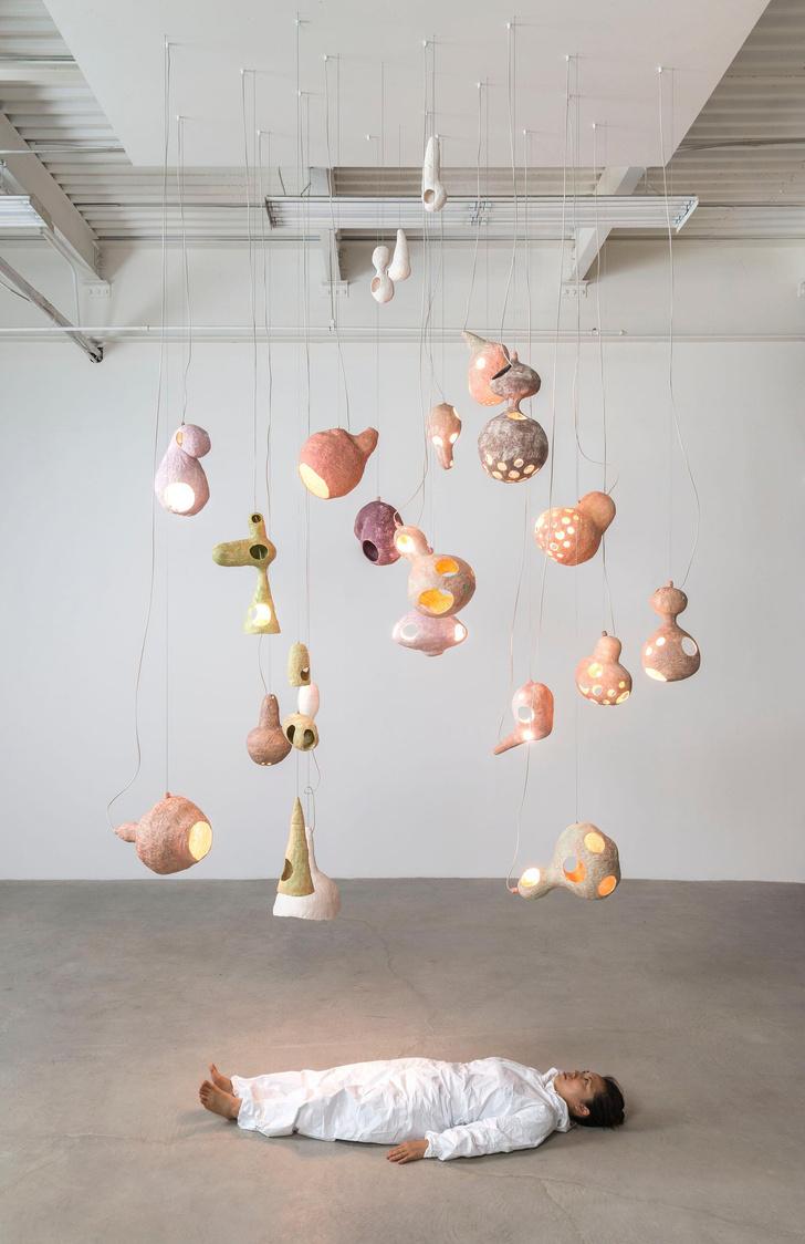 Фото №5 - You See a Sheep: коллекция керамических светильников от Юко Нисикавы