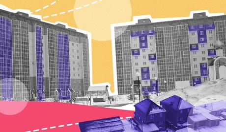 ЖК «Софийский квартал»: парк, фуры и «панельки» на месте трамвайного депо