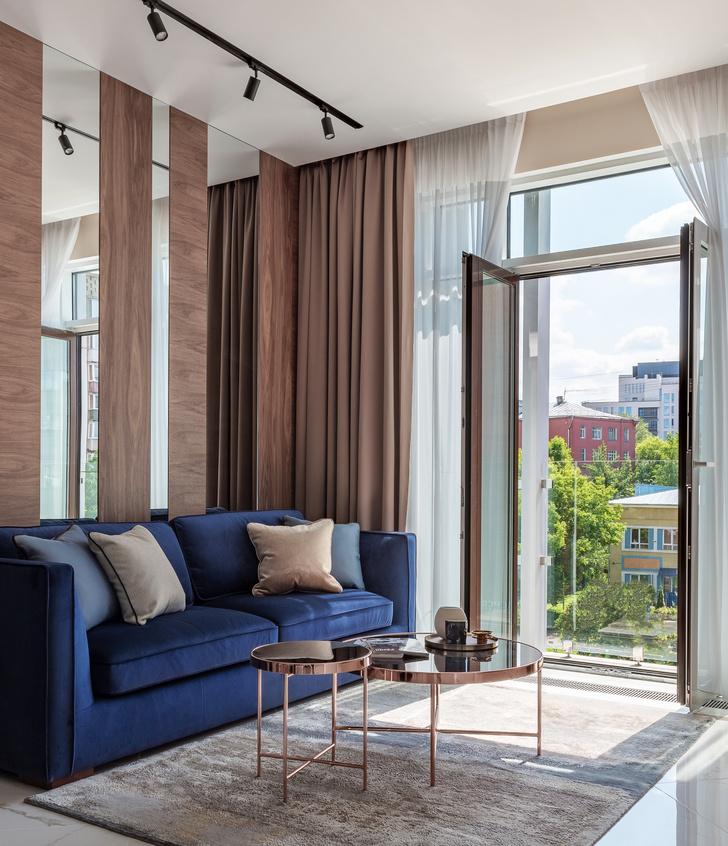 Фото №3 - Московская квартира 58 м² в пастельных тонах