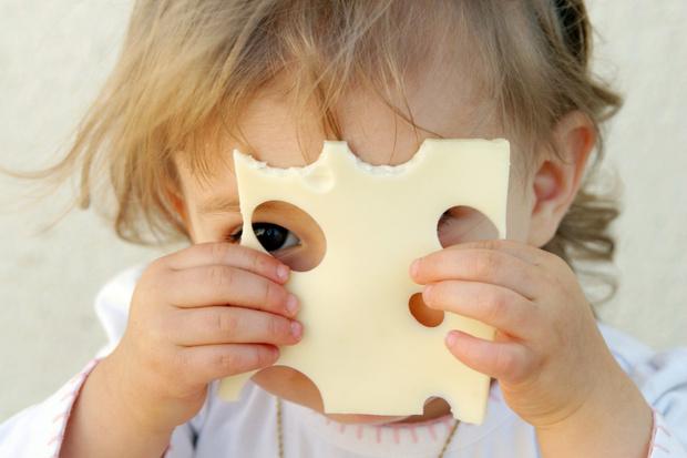 Фото №1 - Сыр в рационе малыша
