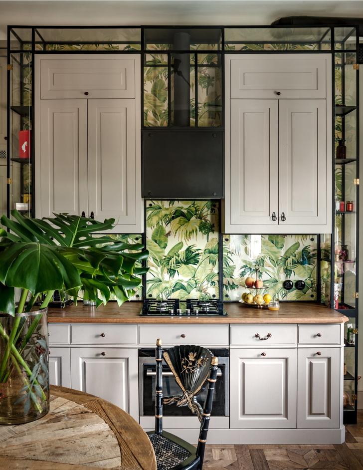Фото №1 - Обои в интерьере кухни: идеи и решения