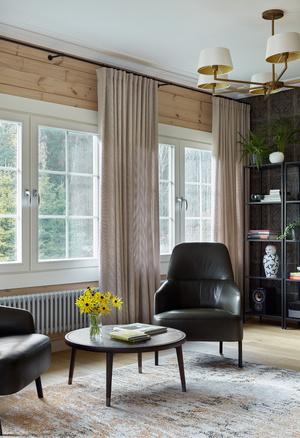 Фото №7 - Современный интерьер в деревянном доме в Подмосковье