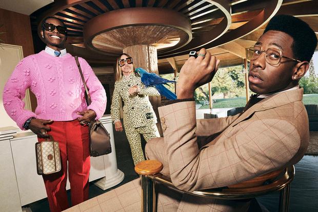 Фото №4 - A$AP Rocky, Игги Поп и Tyler, The Creator в новой рекламной кампании Gucci. И это очень стильно!