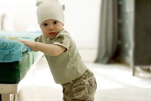 Фото №1 - Упражнения для физического развития малыша от 0 до года