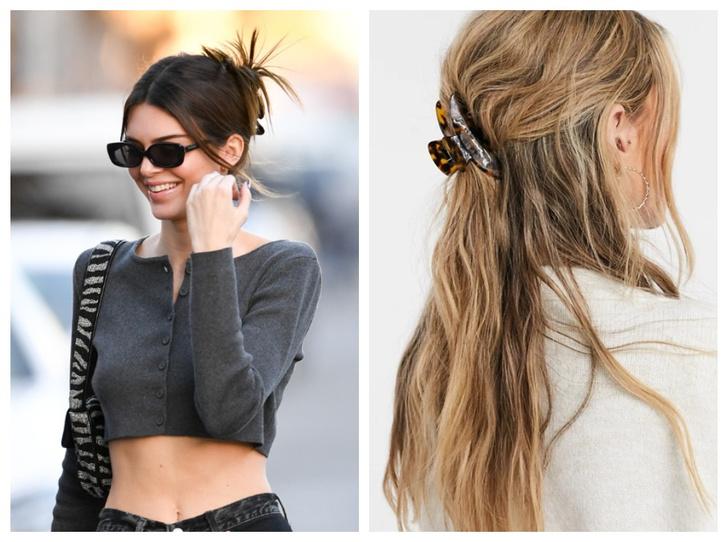 Фото №1 - Крабы для волос: как их носить сейчас (и где купить самые модные)