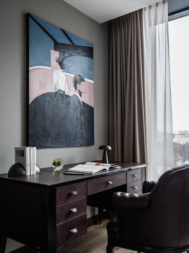 Фото №12 - Современная квартира 87 м² в духе 1960-х в Москве