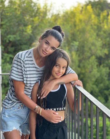 Бородина с дочерью, инстаграм звезд, фото