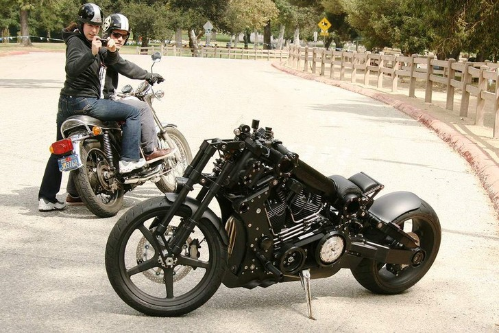 Фото №1 - 7 самых странных мотоциклов