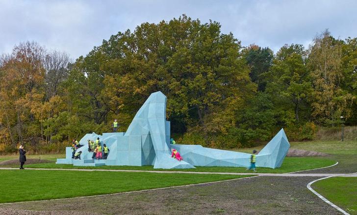 Фото №3 - Гигантские скульптуры в парках Стокгольма