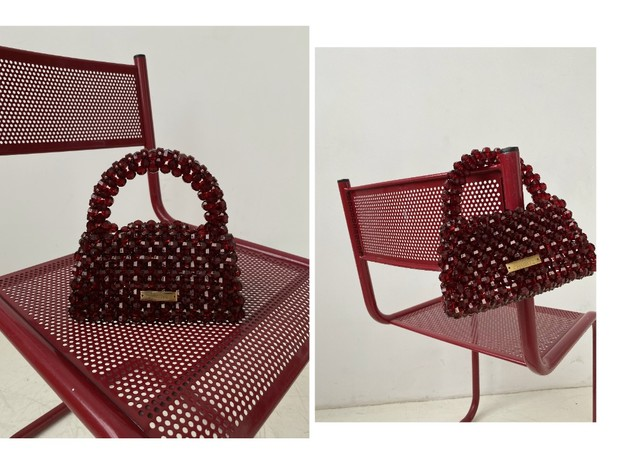 Фото №4 - Red spring: сумка ручной работы Madame Chatelet
