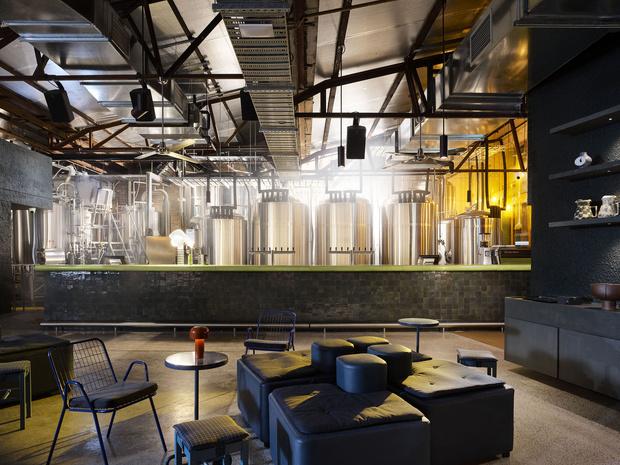 Фото №4 - Ресторан в бывшем здании склада в Сиднее