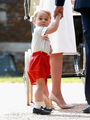 Фото №14 - Общий гардероб: 10 раз, когда Джордж, Шарлотта и Луи носили одежду друг друга