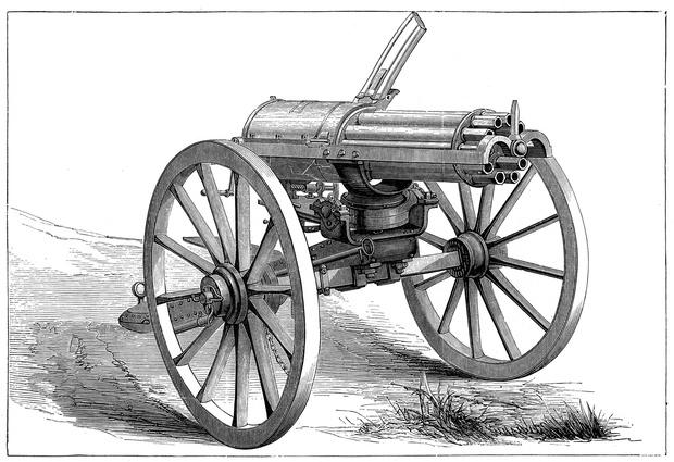 Фото №4 - Гатлинг-ган— пулемет, который не был пулеметом