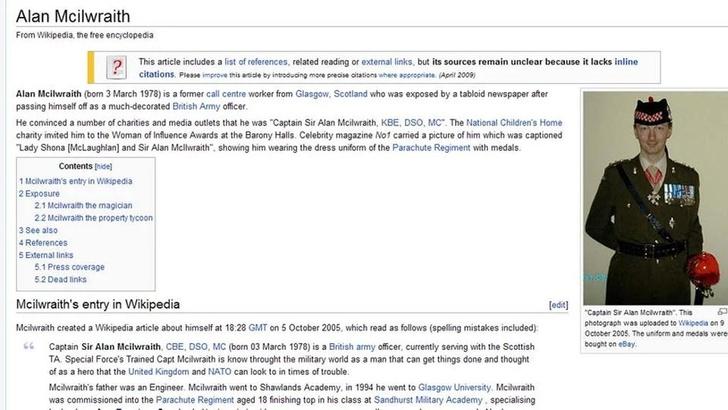 Фото №2 - 10 причин не доверять Википедии