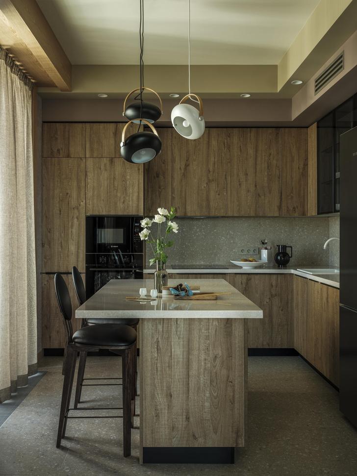 Фото №3 - Как в кино: индустриальный интерьер квартиры 107 м²