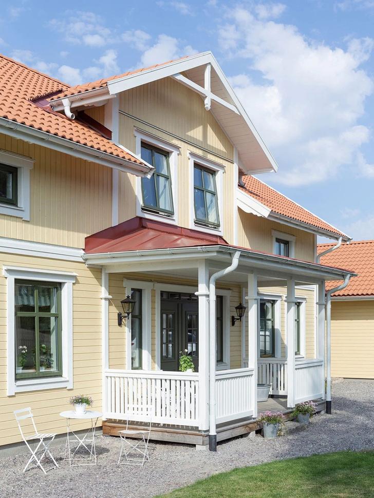 Фото №2 - Светлый дом для большой семьи в Швеции