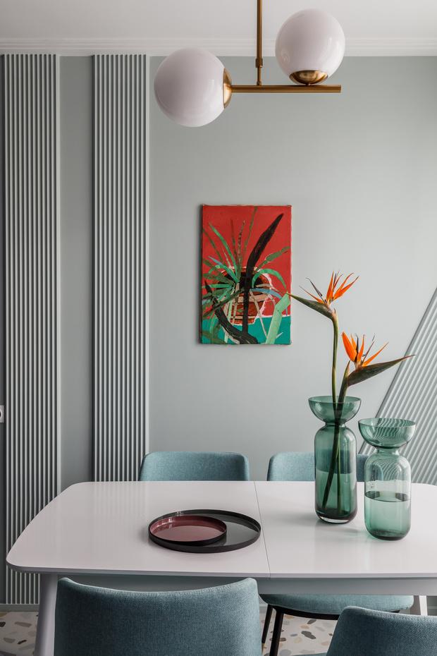 Фото №1 - Всплеск цвета: яркая квартира 81,6 м²