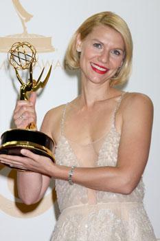 Клэр Дэйнс (Claire Danes) на 65-й церемонии вручения премии «Эмми», 2013 год