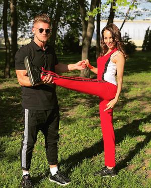 Вячеслав Дайчев и Анастасия Барашкова