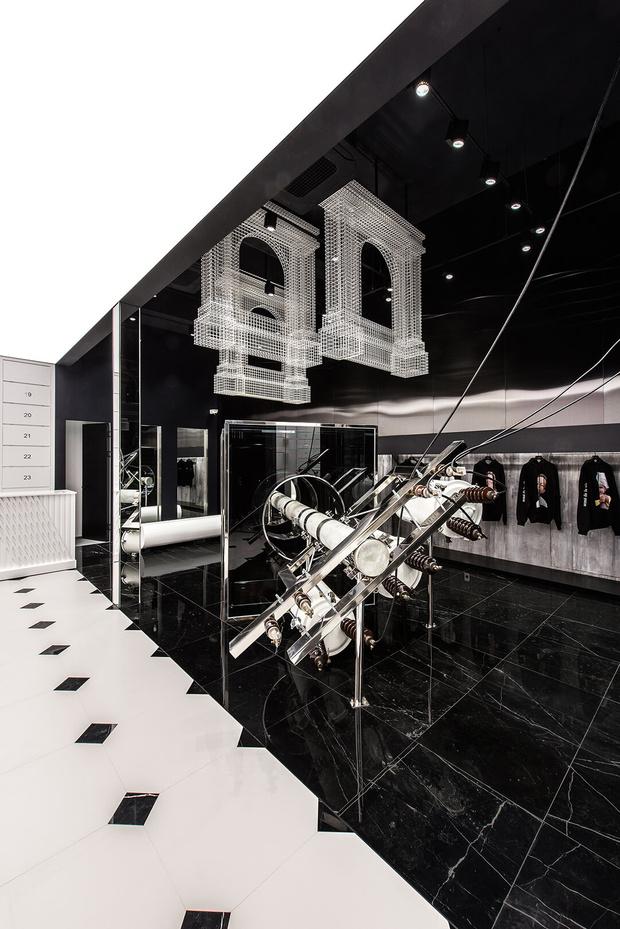 Фото №4 - Монохромный бутик ADLV в Сеуле