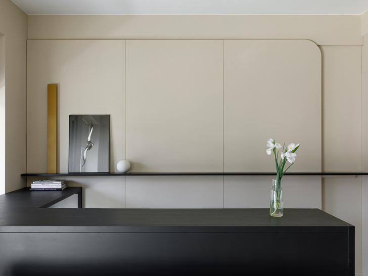 Фото №6 - Апартаменты 56 м² с камином и террасой