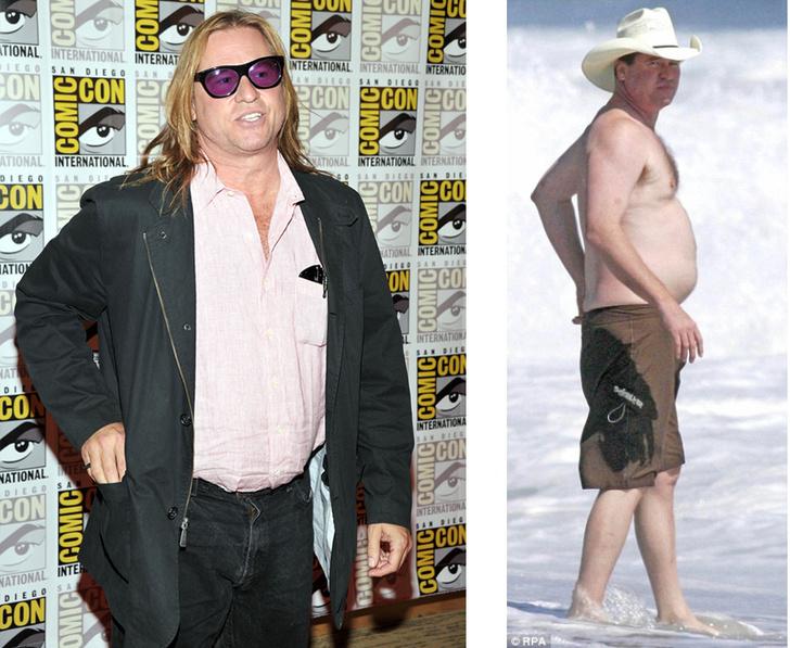 Фото №5 - «Беременный таракан»: худые мужчины-звезды с пивными животами