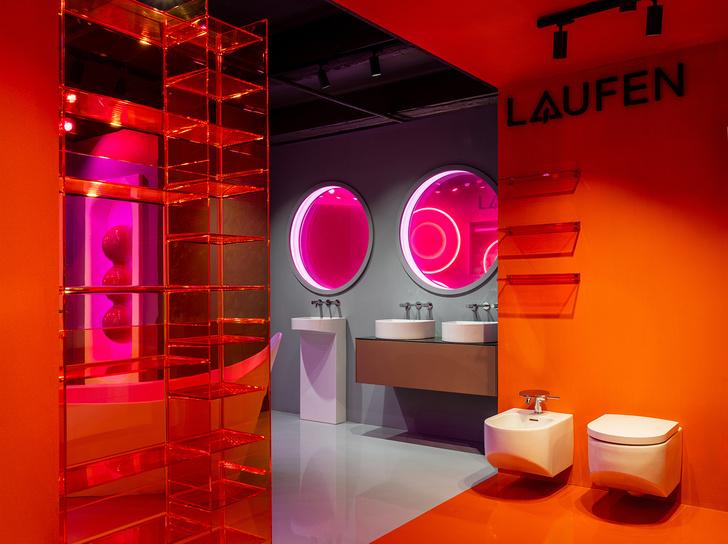 Фото №3 - В розовом свете: новый шоурум Laufen