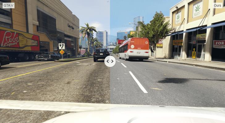 Фото №1 - Графон завезли: компьютерщики сделали GTA V реальной (видео прилагается)