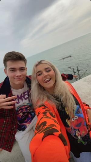 Фото №3 - Неожиданно: Ева Миллер и Володя XXL отдыхают вместе в Сочи