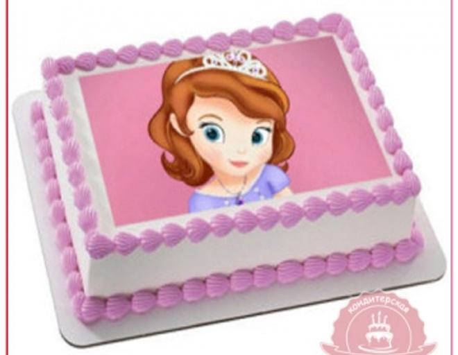 торт принцесса софия своими руками