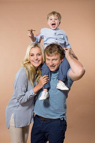 Фото №3 - Анна Городжая: «К созданию семьи я подошла уже сформировавшимся человеком»