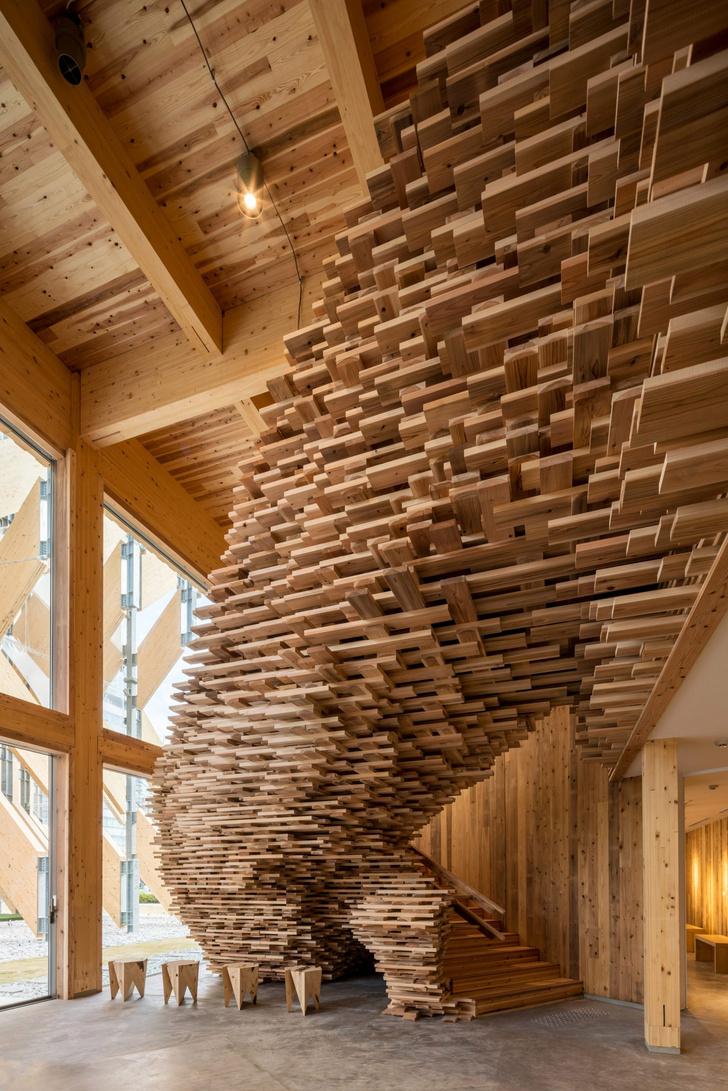 Фото №4 - Деревянный павильон по проекту Кенго Кумы в Токио