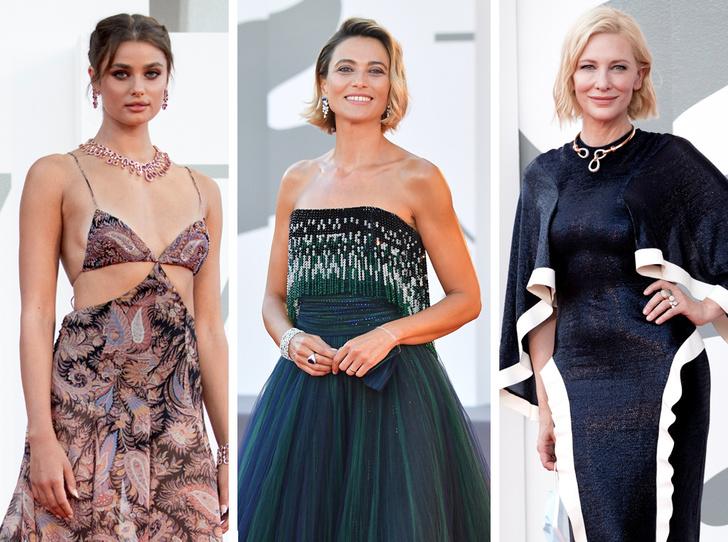 Фото №1 - Венецианский кинофестиваль 2020: лучшие образы церемонии открытия