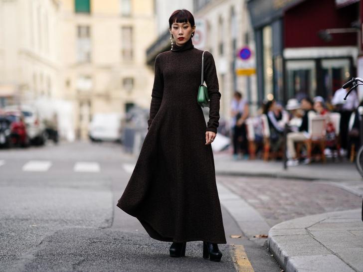 Фото №4 - Осенняя униформа: как выбрать идеальное трикотажное платье