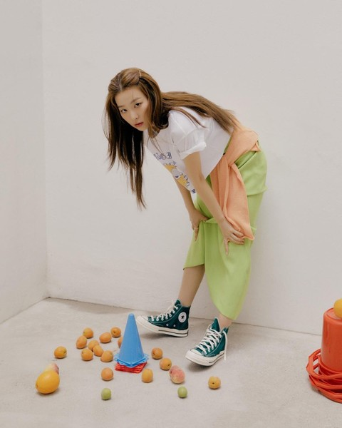 Фото №6 - 10 стильных аутфитов от Сыльги из Red Velvet для этой весны