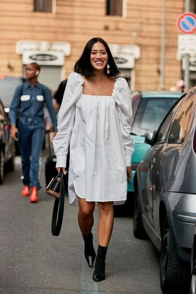 Фото №2 - Вопрос дня: как носить оверсайз платье