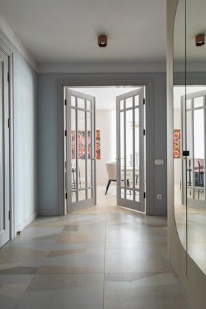 Фото №10 - Киевская квартира 82 м² в пастельных тонах
