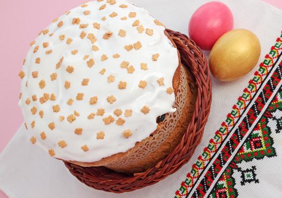 Фото №1 - Кулич пасхальный в хлебопечке: Пасха на современнай лад