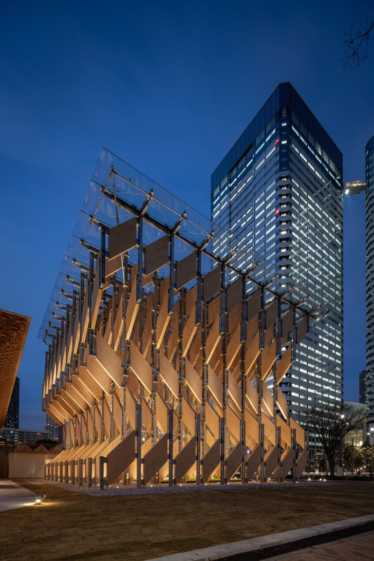 Фото №5 - Деревянный павильон по проекту Кенго Кумы в Токио