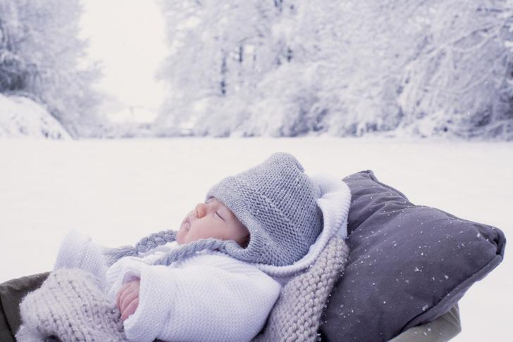 Как одевать младенца зимой на улицу