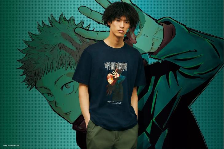Фото №3 - UNIQLO выпустит коллекцию одежды для фанатов аниме «Магическая битва» 🔥