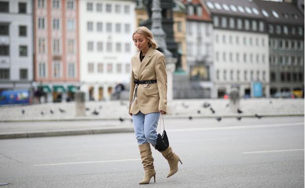 Фото №4 - Гайд: сочетаем джинсы с обувью в холодное время года