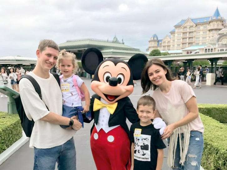 Внук Юрия Никулина с семьей