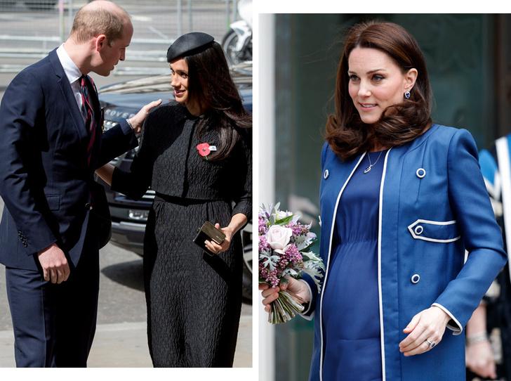 Фото №1 - Меган влюблена в Уильяма, а Кейт беременна и больна: 5 новых (и очень странных) слухов о Виндзорах