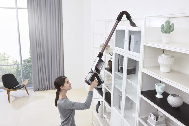 Фото №5 - Легко и быстро: убираем квартиру с новым вертикальным пылесосом Samsung
