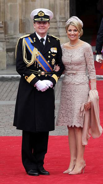 Фото №9 - Принцы, королевы, султаны: как выглядели монаршие гости свадьбы Кейт и Уильяма
