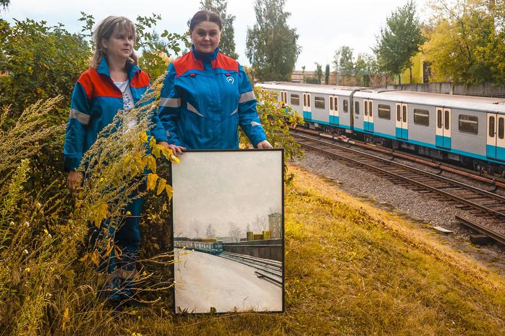 Фото №3 - Выставка «Обратная сторона метро» в Музее Москвы