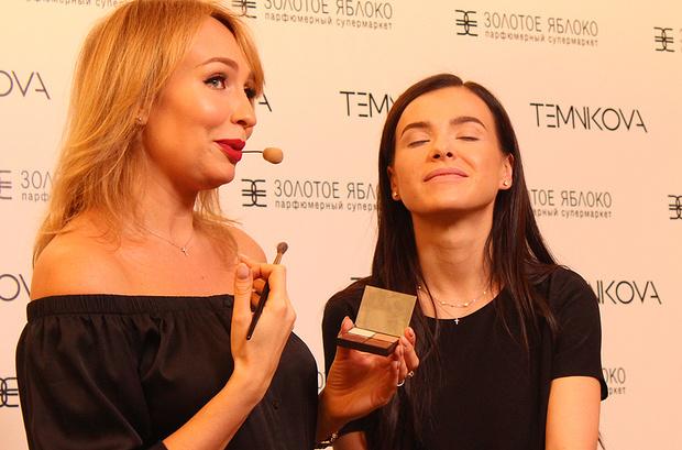 Елена Темникова, мастер-класс по макияжу в Екатеринбурге, фото