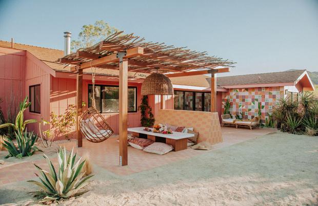 Фото №1 - Гостевой дом в калифорнийской пустыне